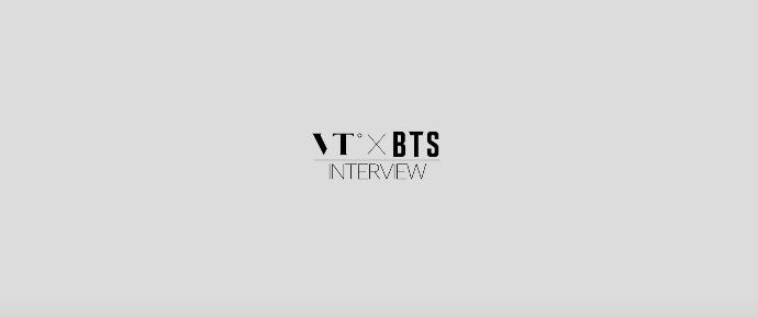 🎥 Entrevista do BTS para a VT Cosmetics