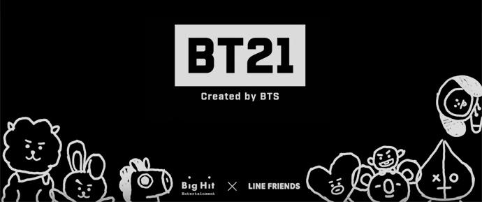 """BTS cria personagens """"BT21"""" em parceria com Line Friends"""