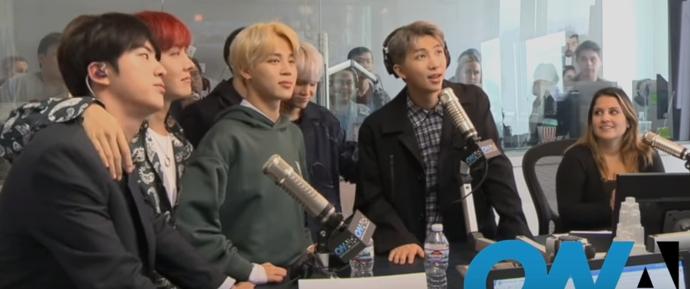 🎥 Entrevista de BTS para a rádio On Air