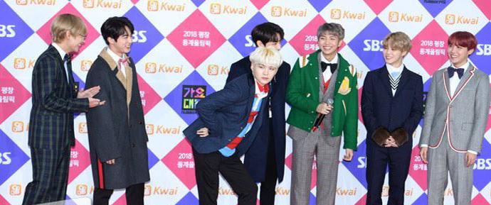 📷 BTS @ SBS Gayo Daejeon 2017