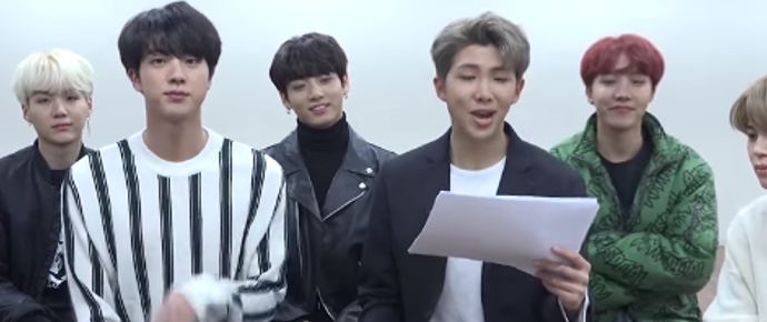 🎥 Entrevista do BTS para o Ask Anything Chat