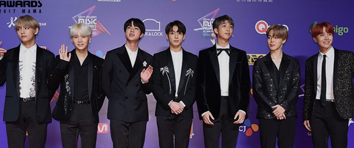 BTS vence Artista do Ano no  MAMA pelo segundo ano consecutivo