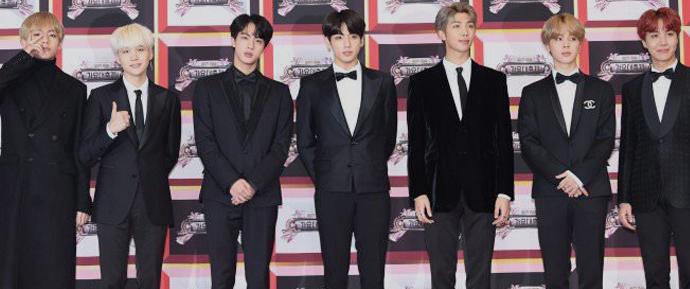 📷 BTS @ Red Carpet KBS Song Festival 2017