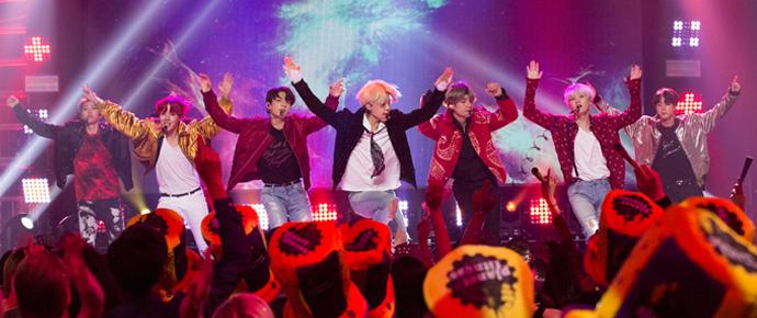📷 BTS @ Dick Clark's New Year's Rockin Eve