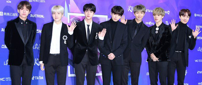 📷 BTS @ Tapete Vermelho do 27th Seoul Music Awards