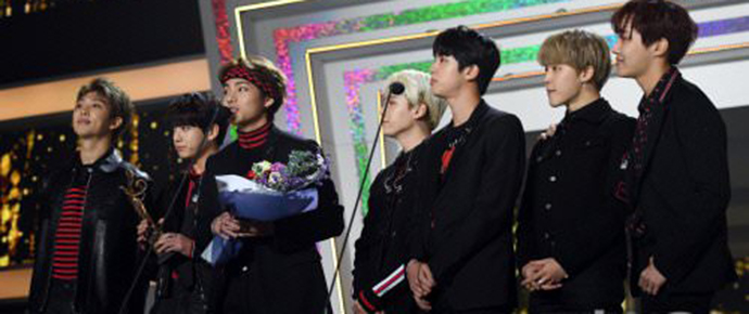 📷 BTS recebe prêmio Bonsang @ 27th Seoul Music Awards