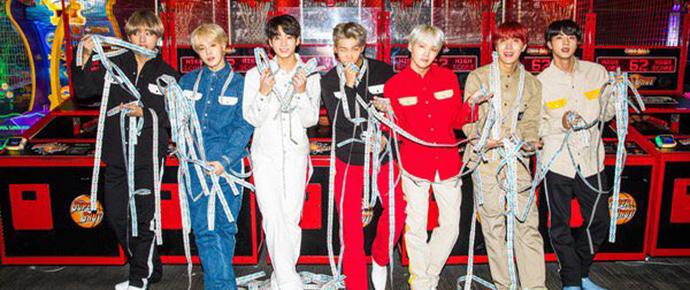 📷 Vogue posta fotos do BTS