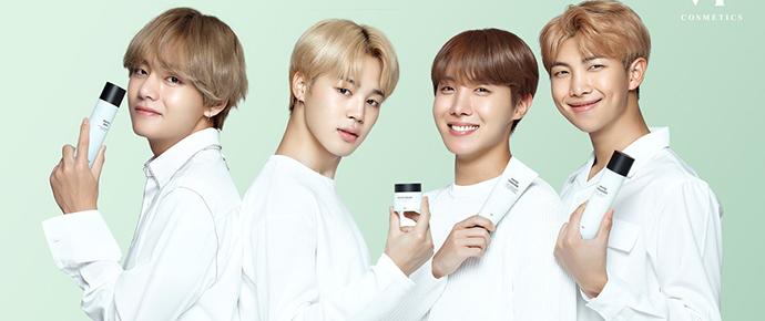 📷 VT Cosmetics posta novas fotos do BTS