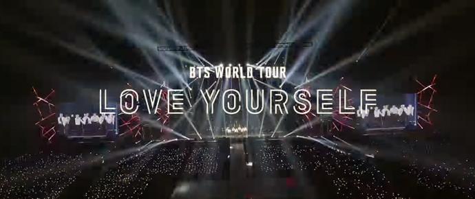 "🎥 Vídeo Spot BTS – TURNÊ MUNDIAL BTS ""LOVE YOURSELF"""