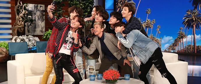 BTS @ The Ellen Degeneres Show