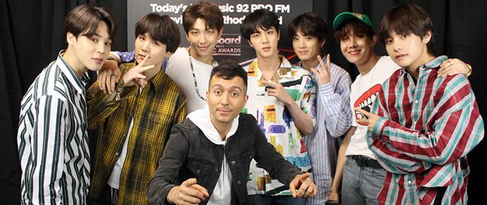 🎥 Entrevista do BTS para a 92 PRO-FM