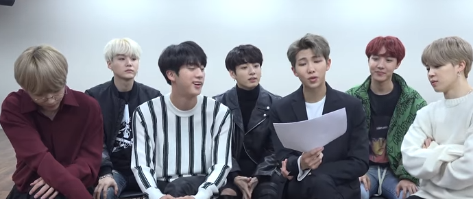 BTS @ Ask Anything Chat