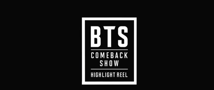 🎥 Comeback Show BTS: Highlight Reel