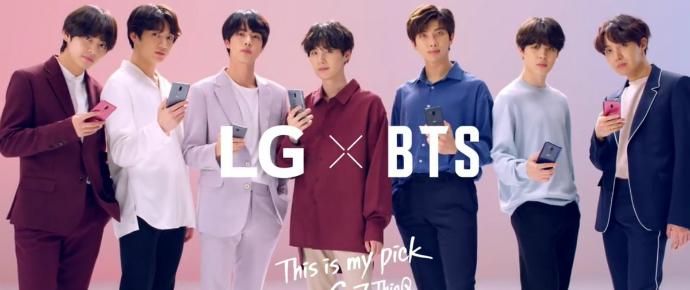 🎥 LG posta vídeo do BTS