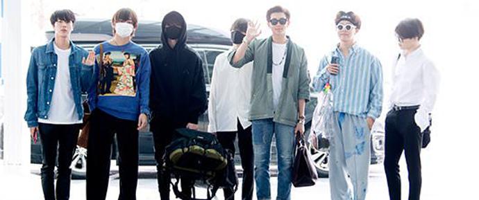 📷 BTS @ Aeroporto de Icheon