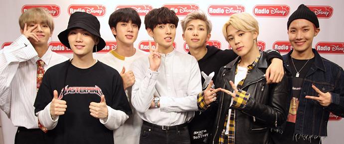  Rádio Disney posta vídeo do BTS