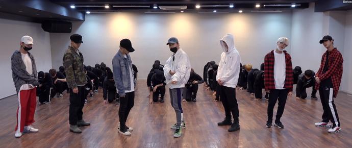 🎥 BTS (방탄소년단) 'Golden Disk Awards 2018' Dance Practice #2018BTSFESTA