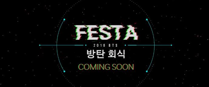 Teaser do BTS FM da 2018 BTS FESTA