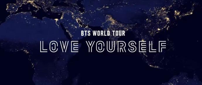 Anúncio da BTS World Tour: Love Yourself ~Japan Edition~
