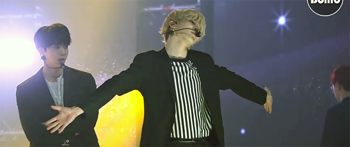 "[BANGTAN BOMB] Jimin canta ""Serendipity"" @ BTS COUNTDOWN"