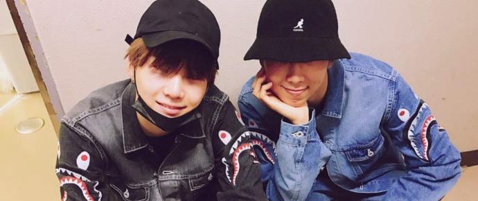 RM e SUGA tem uma das diferenças de altura mais fofas em grupos de K-pop