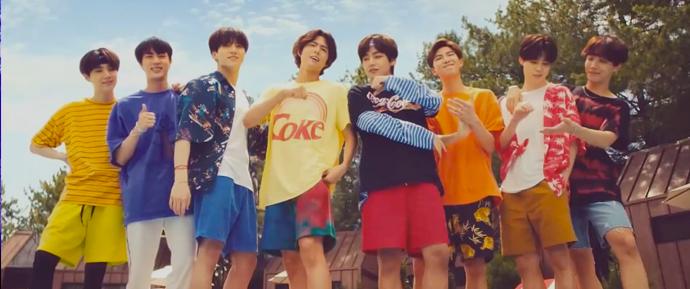 📷 BTS & Park Bogum x Coca-Cola
