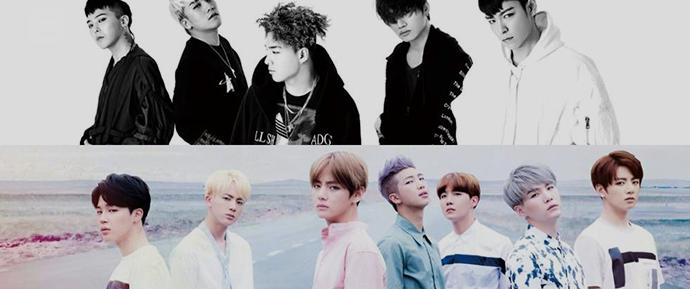 Provas de que o BTS são os maiores fãs do BIGBANG!