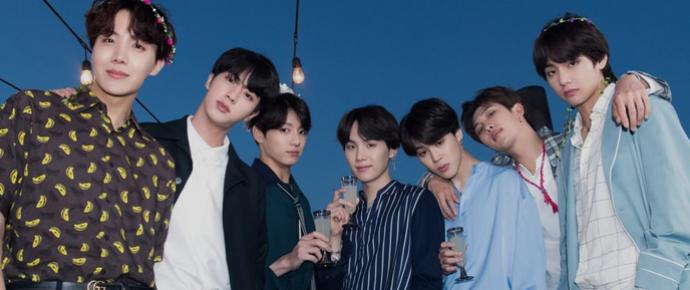BTS lidera ranking de valor de marca para boygroups em Agosto