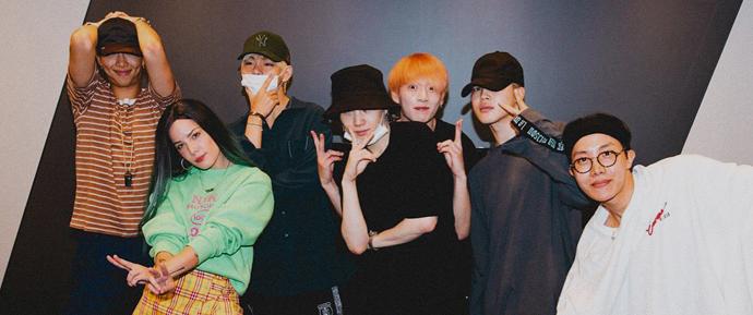 Matando as saudades! BTS e Halsey se encontram em Seul