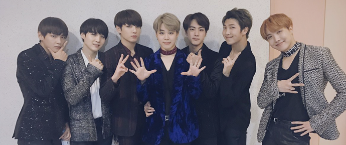 O BTS confirma presença no Asia Artist Awards 2018