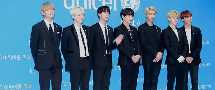 BTS e UNICEF juntos novamente!