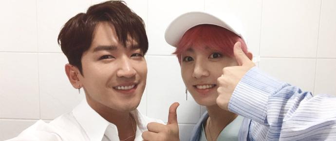 O reencontro de JungKook e Lee Minwoo!