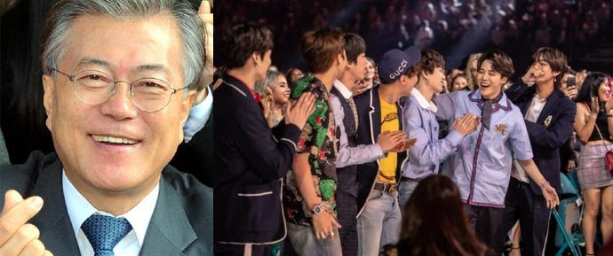 Casa Azul e Primeiro Ministro da Coreia do Sul celebram o sucesso do BTS