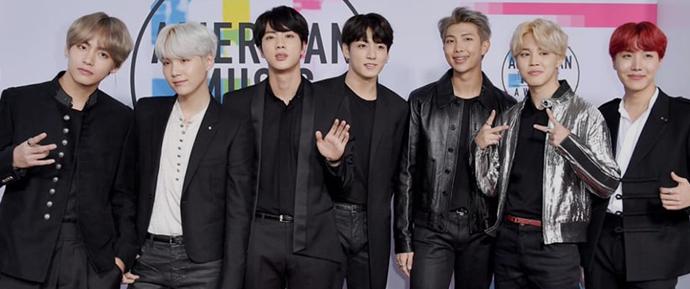 O BTS é indicado ao American Music Awards