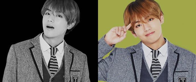 📷 V x Smart School Uniform