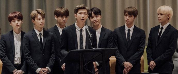 "BTS para ""Generation Unlimited"" @ Assembleia Geral da ONU"
