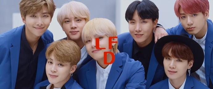  BTS para a Lotte Duty Free Magazine de Setembro