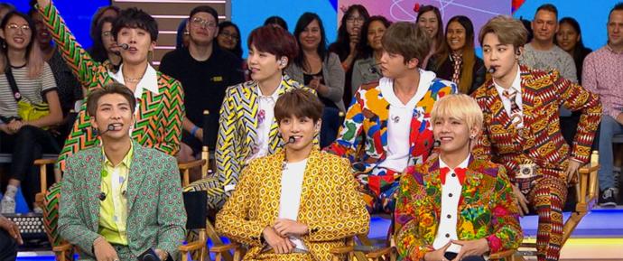 O BTS invade os estúdios do GMA pela primeira vez e rouba corações