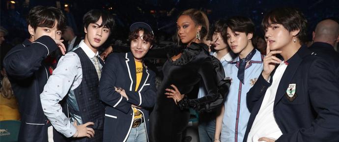 Guia prático de amizades famosas do BTS