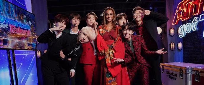 BTS encanta o America's Got Talent!