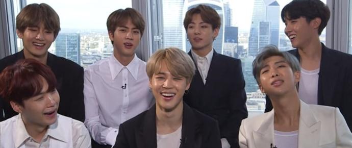 🎥 BTS no questionário de vida da Noisey