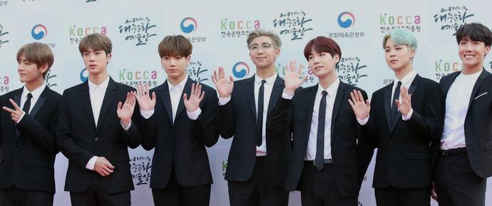 BTS @ 2018 Korean Popular Culture & Arts