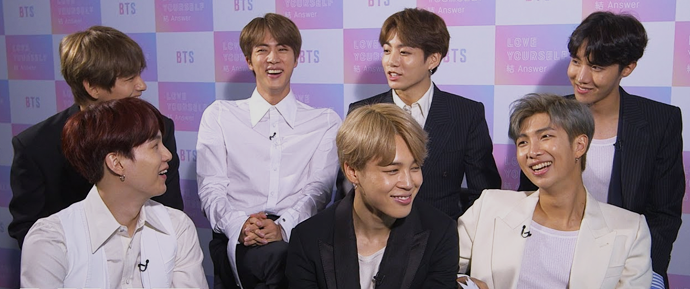 🎥 Entrevista do BTS para NME UK