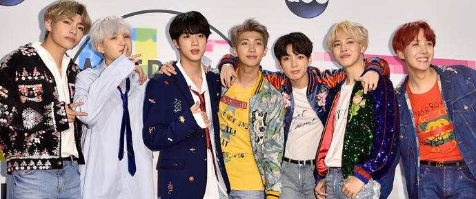 O lado positivo de o BTS não comparecer ao American Music Awards 2018