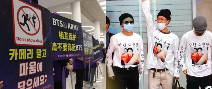 K-ARMYs criam campanha visando mais segurança ao BTS nos aeroportos