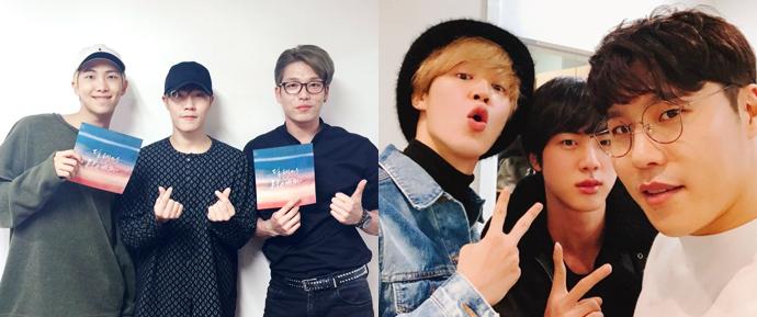 A engraçada amizade de Lee Hyun com Jin, Jimin e RM