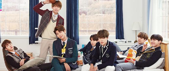 📷 BTS x Smart School Uniform