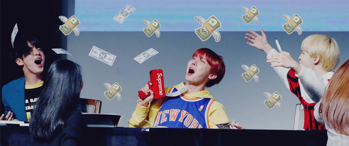 BTS faz história ao ganhar 88 milhões de dólares em 2018 até o momento