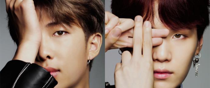 Os integrantes do BTS são modelos DESLUMBRANTES da PLAY/UP!