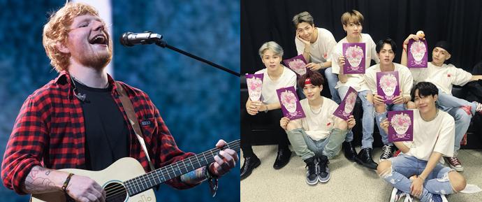 A parceria entre BTS e Ed Sheeran é real? 😱